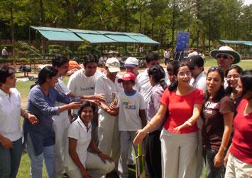 Annual Staff cricket match