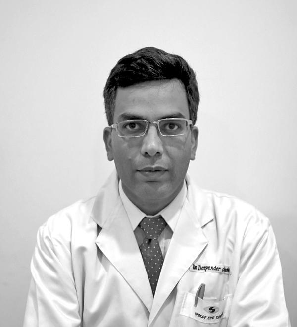 Dr. Deepender Chauhan Cornea Shroff