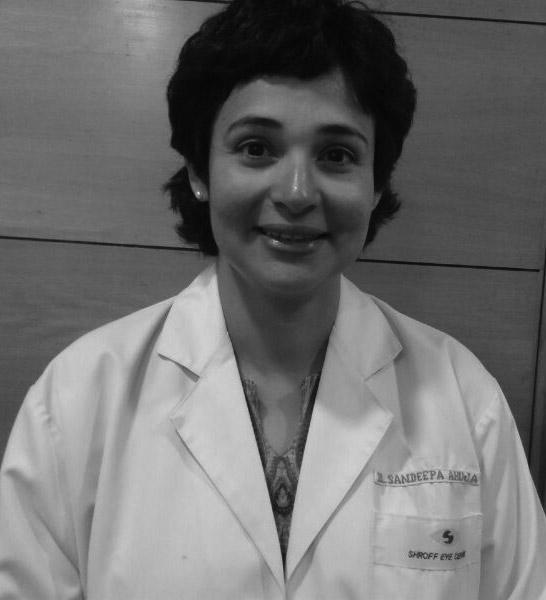 Dr. Sandeepa Ahuja shroff eye