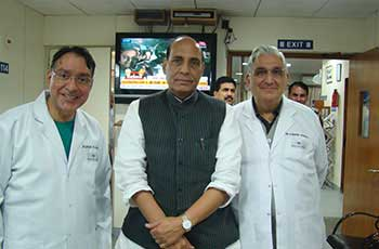 Raj Nath Singh - Shroff Eye Centre